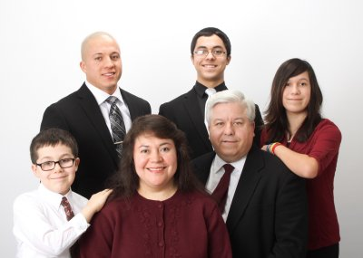 Pastor and his Family